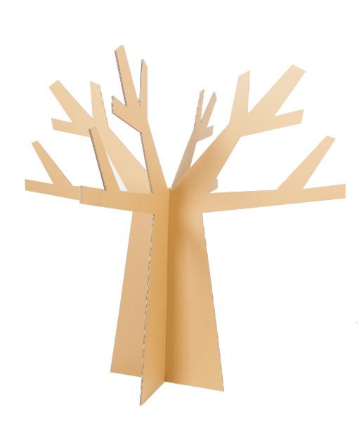 Arboles de carton rbol xmas cartn cm blancoramas y rboles for Arbol de navidad con cajas de carton