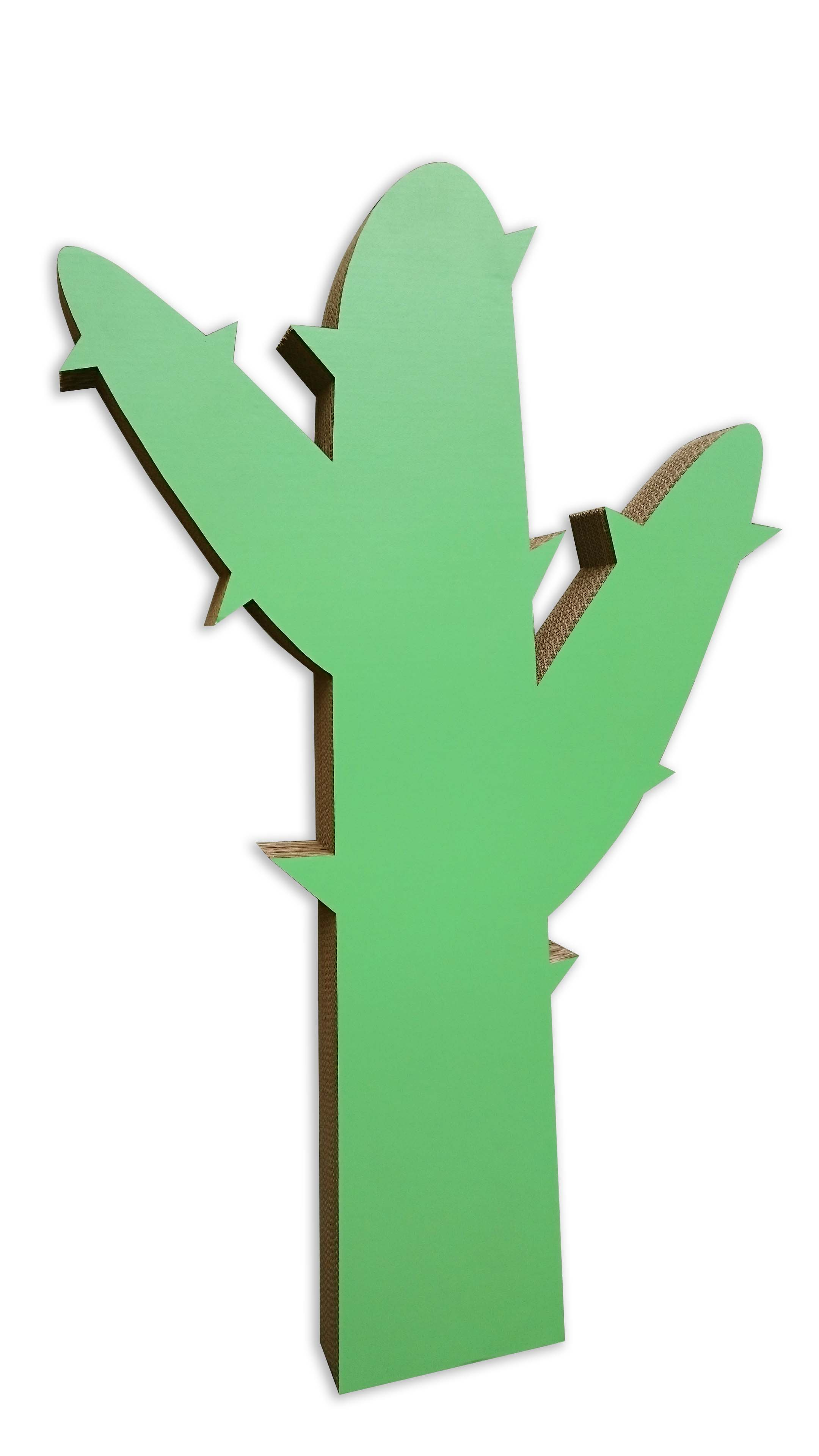 Cactus de cartón gigante