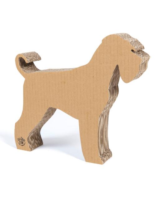 Perro de cartón