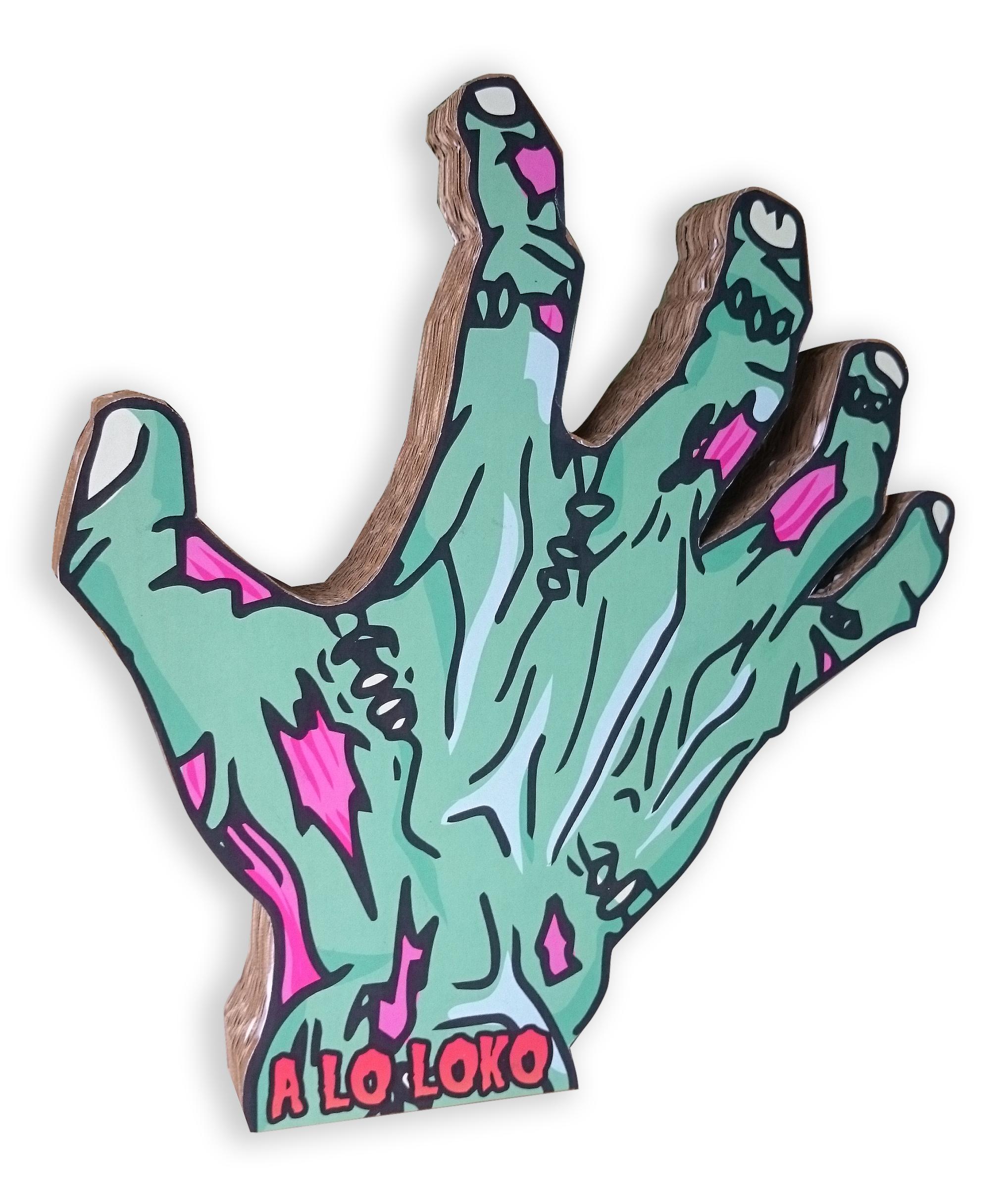Logotipo de cartón fiesta hallowen